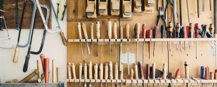 Vybavení dílny: Jaké nářadí a nástroje nesmí chybět?