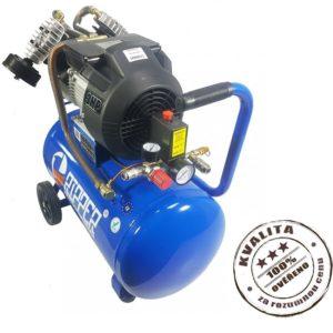 Kompresor olejový dvoupístový 50l 2