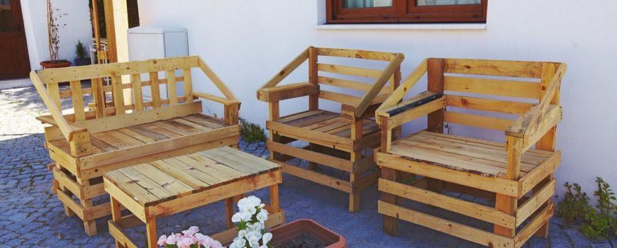Domácí dílna: paletový nábytek inspirace