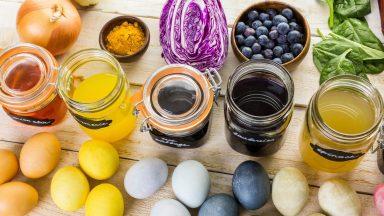 Velikonoce jsou za dveřmi: Barvení vajíček originálně