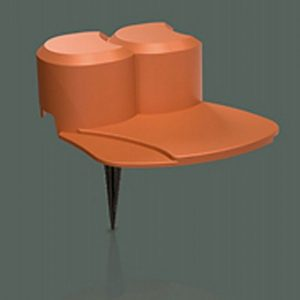 Plastový obrubník - palisáda 3