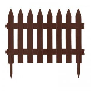 Zahradní plastový plot 3