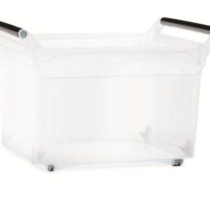 Plastový box úložný NUK 578x379x377mm transparentní   Jipos.cz