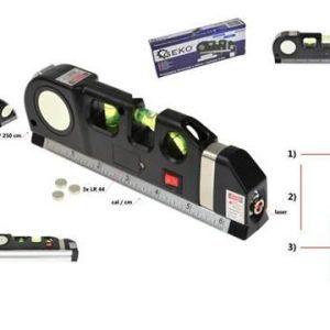 Laserová vodováha s metrem 2