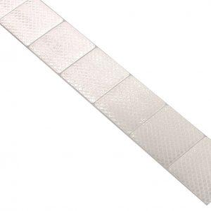 Samolepící páska reflexní dělená 1m x 5cm bílá | Jipos.cz