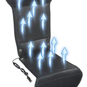 Potah sedadla s ventilací 12V STRICK AIR black   Jipos.cz