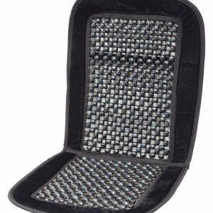 Potah sedadla kuličkový s lemem černý 93x44cm   Jipos.cz