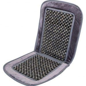 Potah sedadla kuličkový s lemem šedý 93x44cm   Jipos.cz