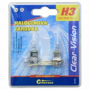 Žárovka 12V  H3  55W Pk22s blister 2ks | Jipos.cz