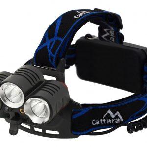 Čelovka LED 400lm (1x XM-L+2x XP-E) | Jipos.cz
