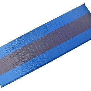 Karimatka samonafukovací 195x60x5cm modro-šedá | Jipos.cz