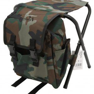 Židle skládací s batohem OLBIA ARMY | Jipos.cz