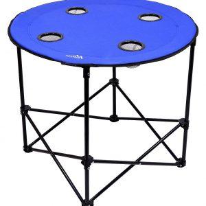 Stůl kempingový skládací SPLIT modrý | Jipos.cz