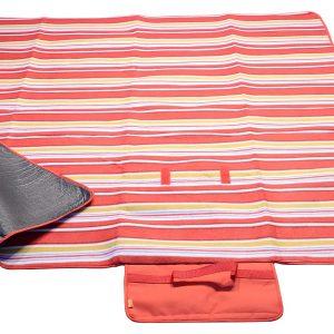 Pikniková deka FLEECE 150x135cm červená | Jipos.cz