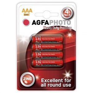 Baterie zinková AAA AGFAPHOTO