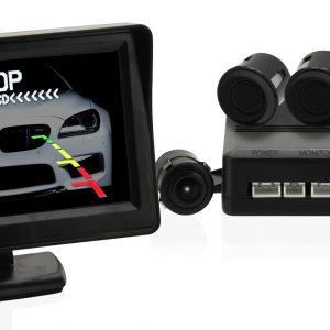 Parkovací asistent 4 senzory + zadní kamera | Jipos.cz