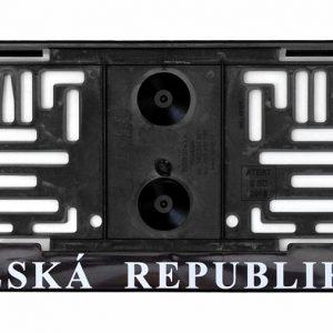 Podložka pod SPZ s nápisem ČR a erby | Jipos.cz