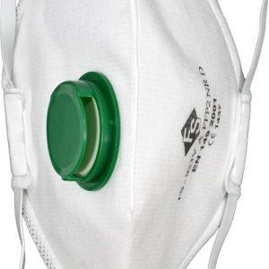 Respirátor s ventilem 3ks FFP2 EN 149:2001 | Jipos.cz