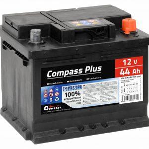 Autobaterie COMPASS PLUS 12V 44Ah 360A | Jipos.cz