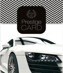 Osvěžovač AROMA CAR PRESTIGE CARD BLACK | Jipos.cz