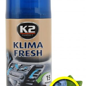 K2 Osvěžovač KLIMA FRESH 150ml BLUEBERRY   Jipos.cz