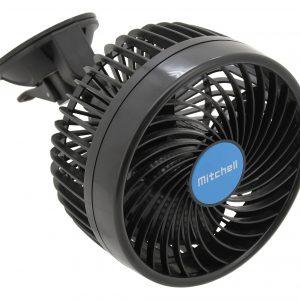 Ventilátor MITCHELL 150mm 12V na přísavku | Jipos.cz