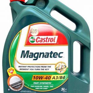 Olej motorový Castrol magnatec 10W-40 5L A3/B4   Jipos.cz