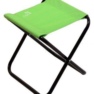 Židle kempingová skládací MILANO zelená | Jipos.cz